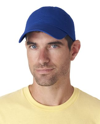 UltraClub 8102 Twill Unconstructed Dad Hat ROYAL