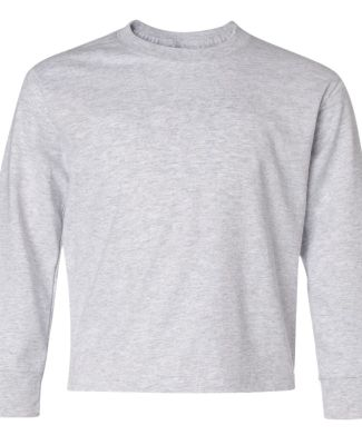 29BL Jerzees Youth Long-Sleeve Heavyweight 50/50 B Ash