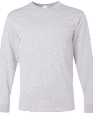 29LS Jerzees Adult Long-Sleeve Heavyweight 50/50 B Ash