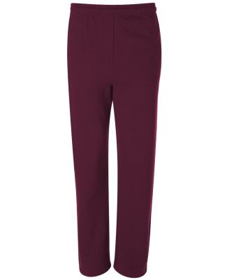 974 Jerzees Adult NuBlend® 50/50 Open-Bottom Swea Maroon