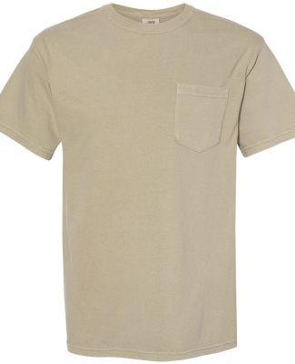 6030 Comfort Colors - Pigment-Dyed Short Sleeve Sh KHAKI