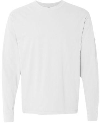 6014 Comfort Colors - 6.1 Ounce Ringspun Cotton Lo White
