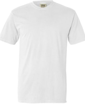 4017 Comfort Colors - Combed Ringspun Cotton T-Shi WHITE