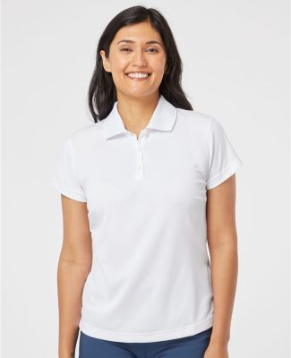 A131 adidas Golf Ladies' ClimaLite® Piqué Short-Sleeve Polo Catalog