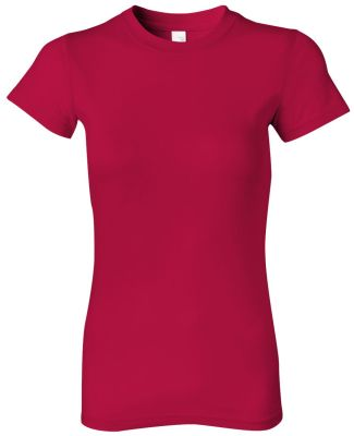 379 Anvil Semi-Sheer Ring Spun Tee Red