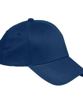 BX020 Big Accessories 6-Panel Structured Twill Cap NAVY