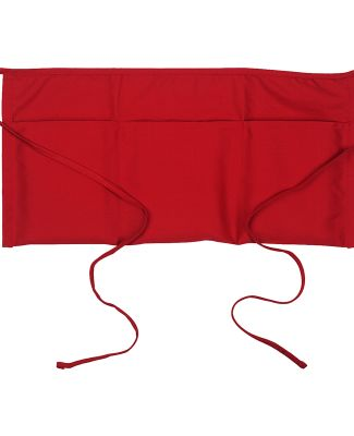 "APR50 Big Accessories Three-Pocket 10"" Waist Apron RED"