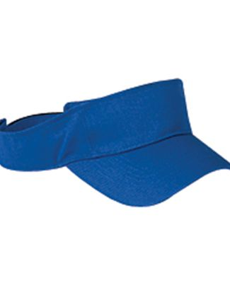 BX006 Big Accessories Cotton Twill Visor ROYAL