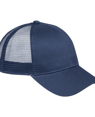 BX019 Big Accessories 6-Panel Structured Trucker C NAVY