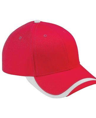 SWTB Big Accessories Sport Wave Baseball Cap RED/ WHITE
