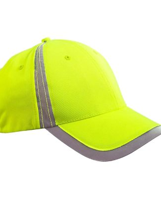 BX023 Big Accessories Reflective Accent Safety Cap BRIGHT YELLOW