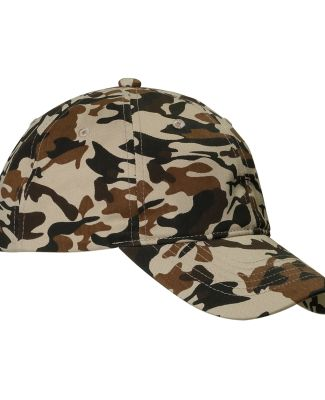 BX018 Big Accessories Unstructured Camo Hat DESERT CAMO