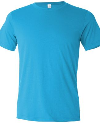 BELLA+CANVAS 3650 Mens Poly-Cotton T-Shirt TURQUOISE