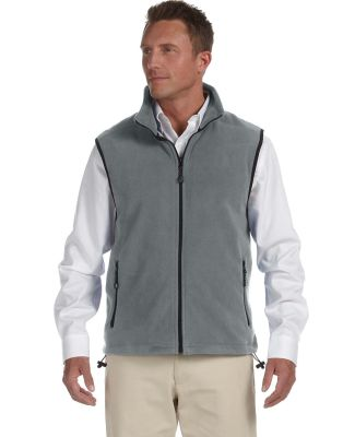 D770 Devon & Jones Wintercept™ Fleece Vest CHARCOAL
