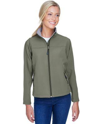 D995W Devon & Jones Ladies' Soft Shell Jacket OLIVE