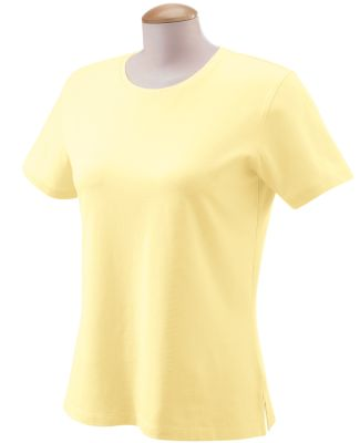 DP155W Devon & Jones Ladies' Stretch Jersey T-Sh DAFFODIL