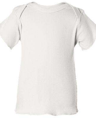 3400 Rabbit Skins® Infant Lap Shoulder T-shirt WHITE