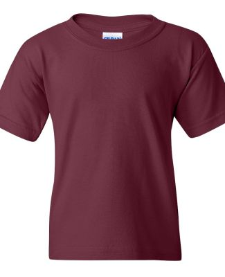 5000B Gildan™ Heavyweight Cotton Youth T-shirt  MAROON