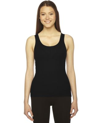 3308 American Apparel Boy Beater Tank Black