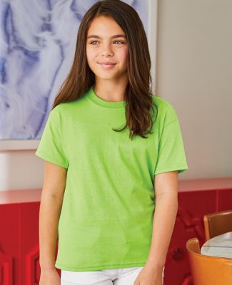 5370 Hanes® Heavyweight 50/50 Youth T-shirt Catalog
