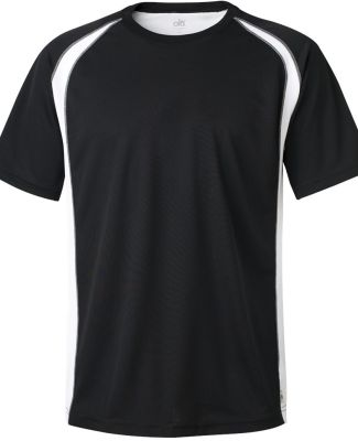 M1004 All Sport Reverse Colorblock T-shirt Black/ White/ Grey