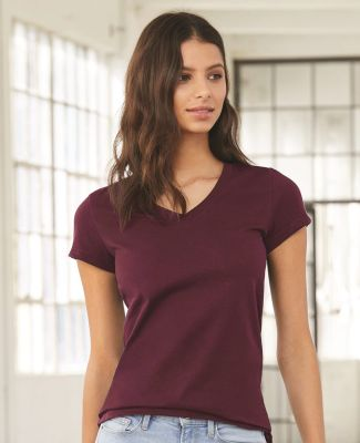BELLA 6005 Womens V-Neck T-shirt Catalog