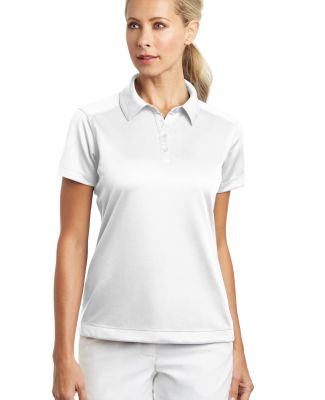 Nike Golf Ladies Dri FIT Pebble Texture Polo 35406 White