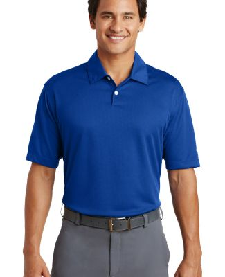 Nike Golf Dri FIT Pebble Texture Polo 373749 Varsity Royal