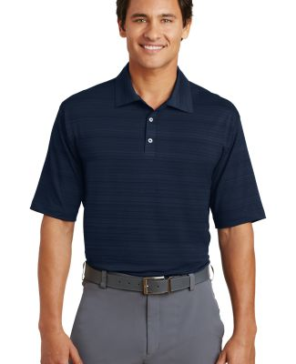 Nike Golf Elite Series Dri FIT Heather Fine Line B Navy