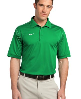 Nike Golf Dri FIT Sport Swoosh Pique Polo 443119 Lucky Green