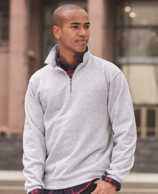 JERZEES SUPER SWEATS 1/4 Zip Sweatshirt with Cadet Collar 4528M Catalog