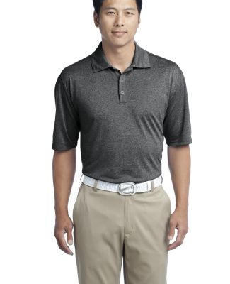 Nike Golf Dri FIT Heather Polo 474231 Black Heather