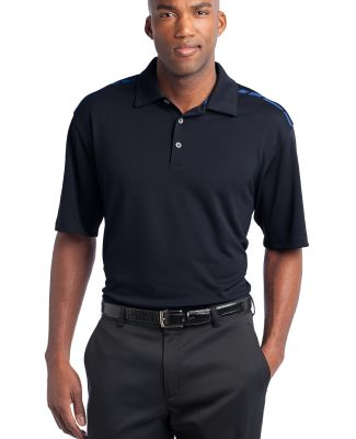 Nike Golf Dri FIT Graphic Polo 527807 Navy/Signal Bl