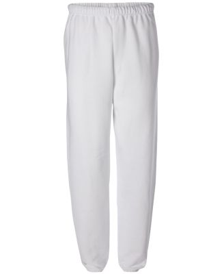 JERZEES 973 NuBlend Sweatpant 973M White