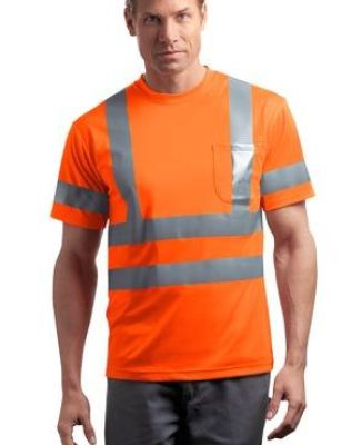 CornerStone ANSI Class 3 Short Sleeve Snag Resistant Reflective T Shirt CS408 Catalog