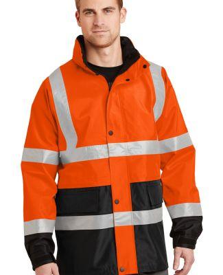 CornerStone ANSI Class 3 Waterproof Parka CSJ24 Safety Orange