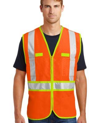 CornerStone ANSI Class 2 Dual Color Safety Vest CS Safety Orange