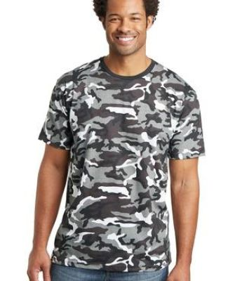 District Made 153 Mens Perfect Weight Camo Crew Tee DT104C Catalog
