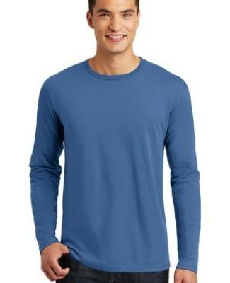 District Made 153 Mens Perfect Weight Long Sleeve Tee DT105 Catalog