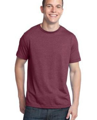 District Young Mens Tri Blend Crew Neck Tee DT142 Catalog