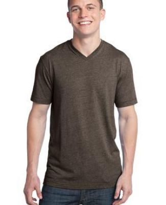 District Young Mens Tri Blend V Neck Tee DT142V Catalog