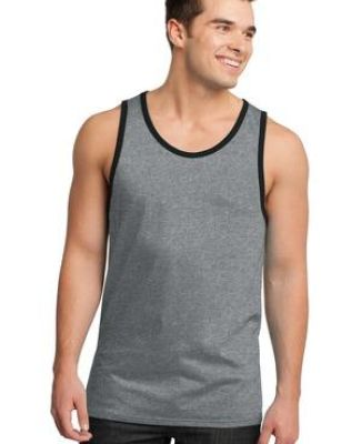 District Young Mens Cotton Ringer Tank DT1500 Catalog