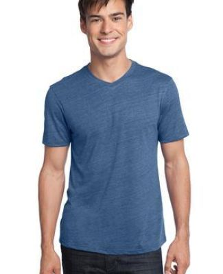 District Young Mens Textured Notch Crew Tee DT172 Catalog