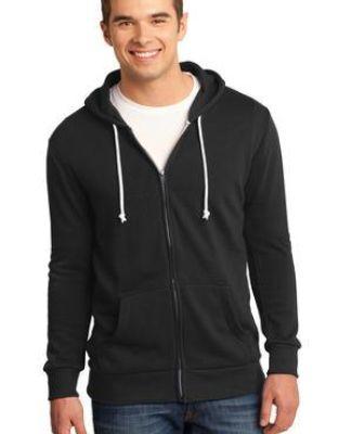 District Young Mens Core Fleece Full Zip Hoodie DT190 Catalog