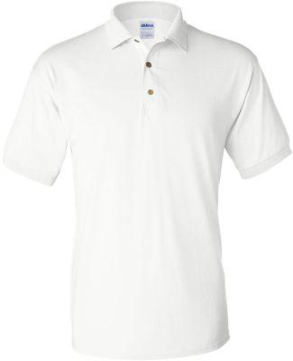 8800 Gildan® Polo Ultra Blend® Sport Shirt WHITE