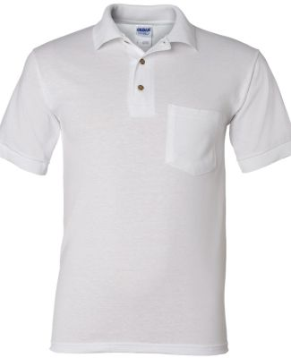 8900 Gildan® Ultra Blend Sport Shirt with Pocket WHITE