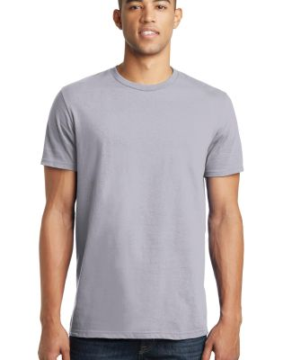 District Young Mens Concert Tee DT5000 Silver