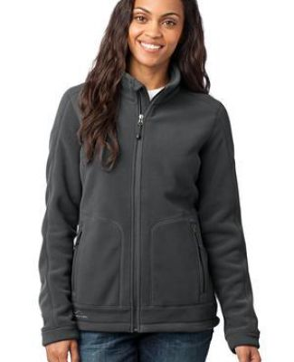 Eddie Bauer Ladies Wind Resistant Full Zip Fleece Jacket EB231 Catalog
