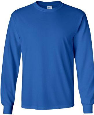 2400 Gildan Ultra Cotton Long Sleeve T Shirt  ROYAL