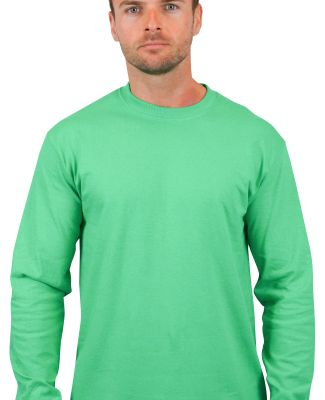 2400 Gildan Ultra Cotton Long Sleeve T Shirt  IRISH GREEN